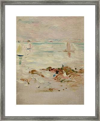 Sailboats Framed Print by Berthe Morisot