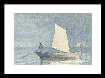 Tranquil Paintings Framed Prints