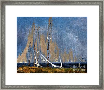 Sailing Framed Print by Arne Hansen