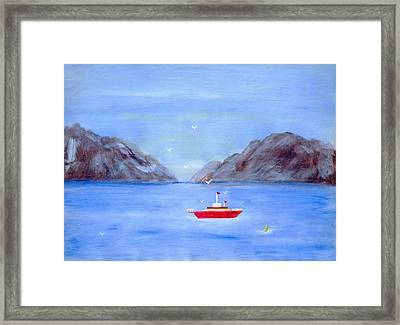 Sailing Away Framed Print