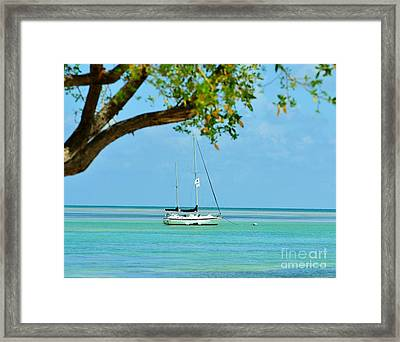 Sailing Away To Key Largo Framed Print by Rene Triay Photography