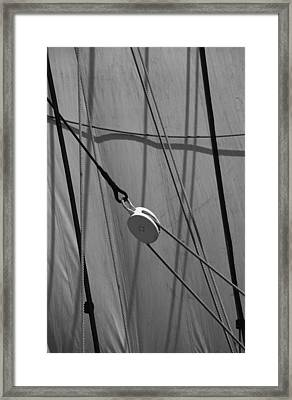 Sailing Block Framed Print