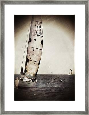 Sailing Boat Nautical 5 Framed Print