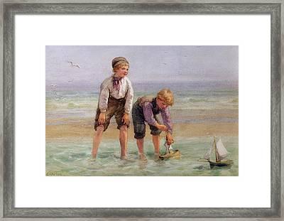 Sailing Boats  Framed Print