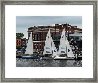 Sailing Class Framed Print