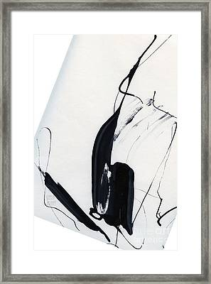 Sailing Dance Framed Print