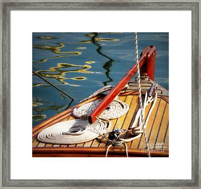 Sailing Dories 4 Framed Print by Lainie Wrightson