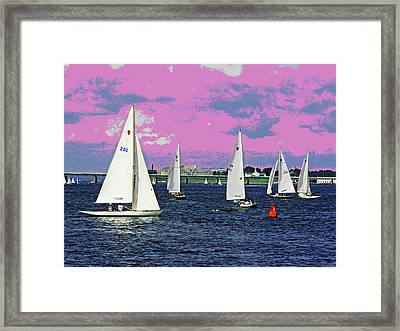 Sailing Fun Framed Print