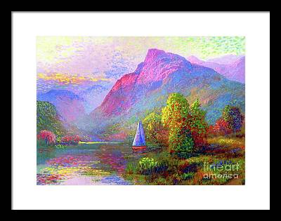 Yacht Paintings Framed Prints