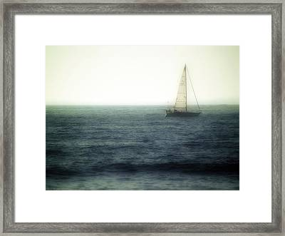 Sailing Framed Print by Lyle  Huisken