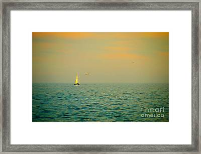 Sailing On The Great Lakes Framed Print