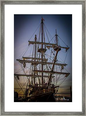 Sailing Ships 2 Shipping Art Framed Print