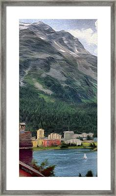 Sailing St Moritz Framed Print by Jeff Kolker