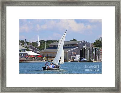 Sailing The Dorothy Framed Print