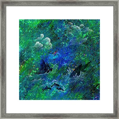 Sailing The Seven Seas Framed Print