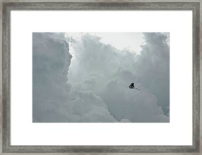 Sailing To The Storm Framed Print by JAMART Photography