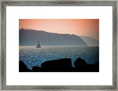 Sailng Framed Print