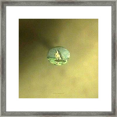 Framed Print featuring the painting Sailorman by Phillip H George