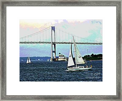 Sailors Away Framed Print