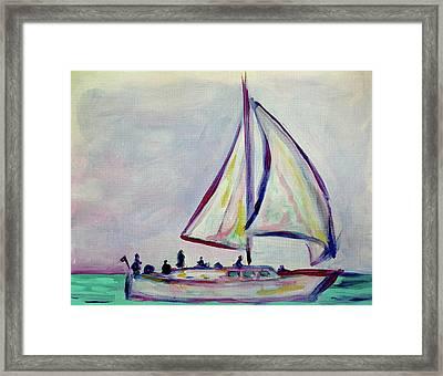 Sailor's Delight Framed Print
