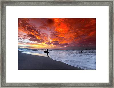 Sailors Delight Framed Print by Sean Davey