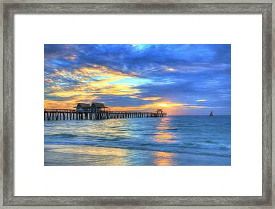 Framed Print featuring the digital art Sailor's Delight by Sharon Batdorf