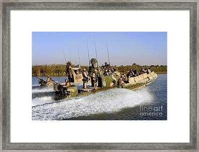 Sailors Racing Along The Euphrates Framed Print by Stocktrek Images