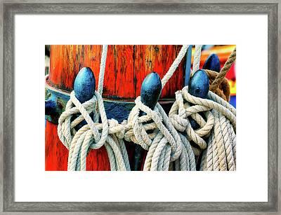 Sailor's Ropes Framed Print
