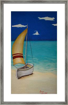 Sailors Solitude Framed Print by Amanda Clark