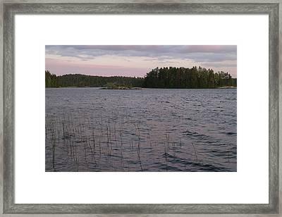 Saimaa I Framed Print