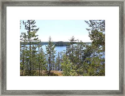 Saimaa II Framed Print