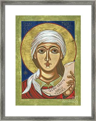 Saint Angela Merici Framed Print by Danielle Tayabas
