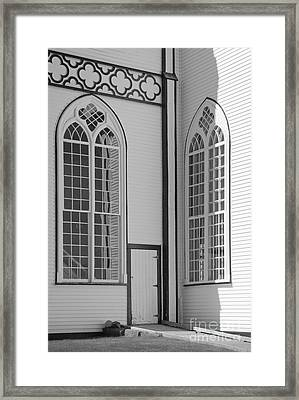 Saint Augustines #2 Framed Print by Lionel F Stevenson