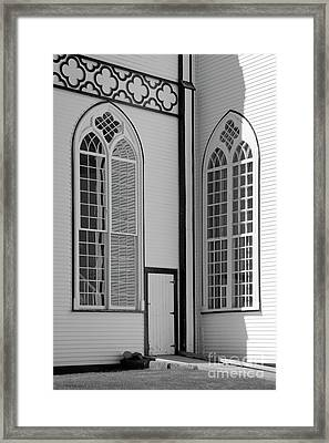 Saint Augustines #3 Framed Print by Lionel F Stevenson