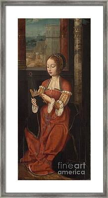 Saint Barbara  Framed Print by MotionAge Designs