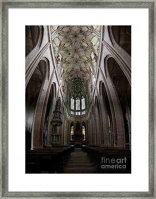 Saint Barbara's Church, Kutna Hora Framed Print
