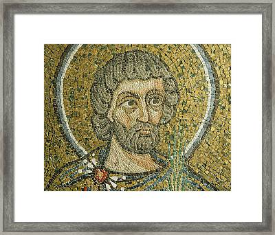 Saint Barbaziano Framed Print by Italian School