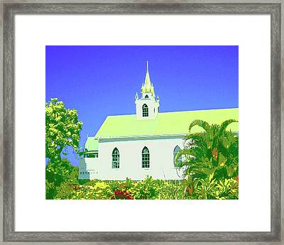 Saint Benedict Framed Print by Dominic Piperata