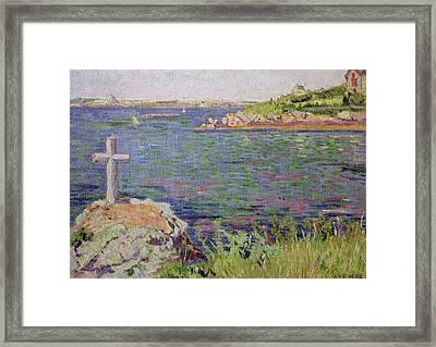 Saint Briac Framed Print by Paul Signac