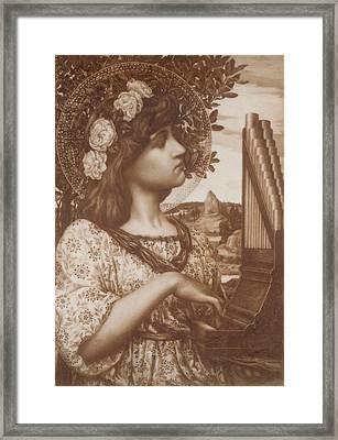 Saint Cecilia Framed Print by Henry Ryland