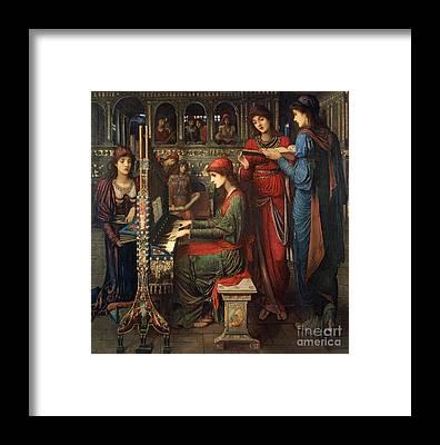Saint Cecilia Framed Prints