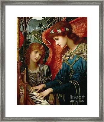 Saint Cecilia Framed Print by John Melhuish Strukdwic