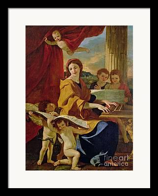 Poussin Nicolas 1594-1665 Framed Prints