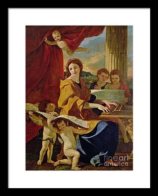 Poussin Framed Prints