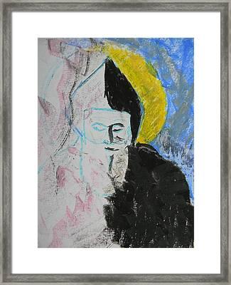 Saint Charbel Framed Print by Marwan George Khoury