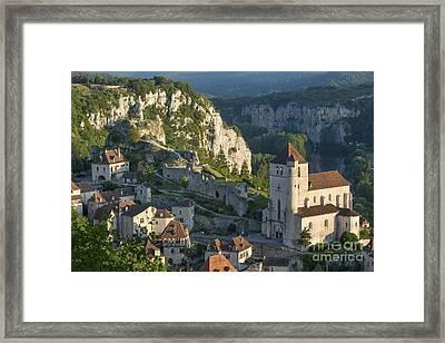 Saint Cirq Morning Framed Print
