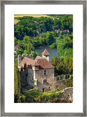 Saint Cirq View Framed Print