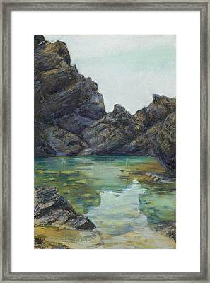 Saint Croix Framed Print by Billie Colson