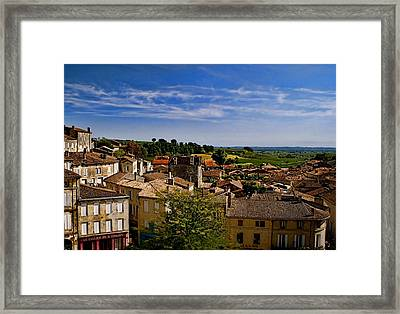 Saint Emilion Framed Print by Louise Fahy