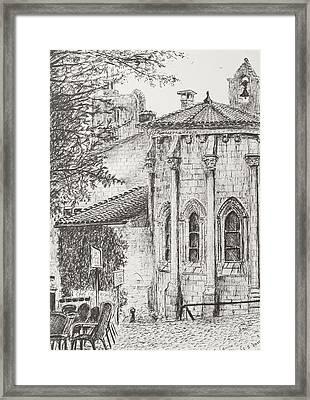Saint-emilion Framed Print by Vincent Alexander Booth
